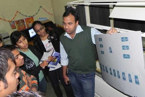 Visit to Offset Printing Press