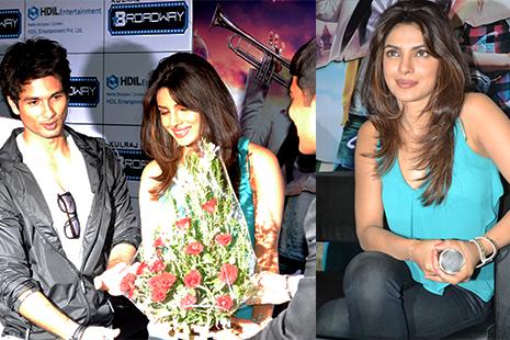 Shri Shahid Kapoor & Smt Priyanka Chopra