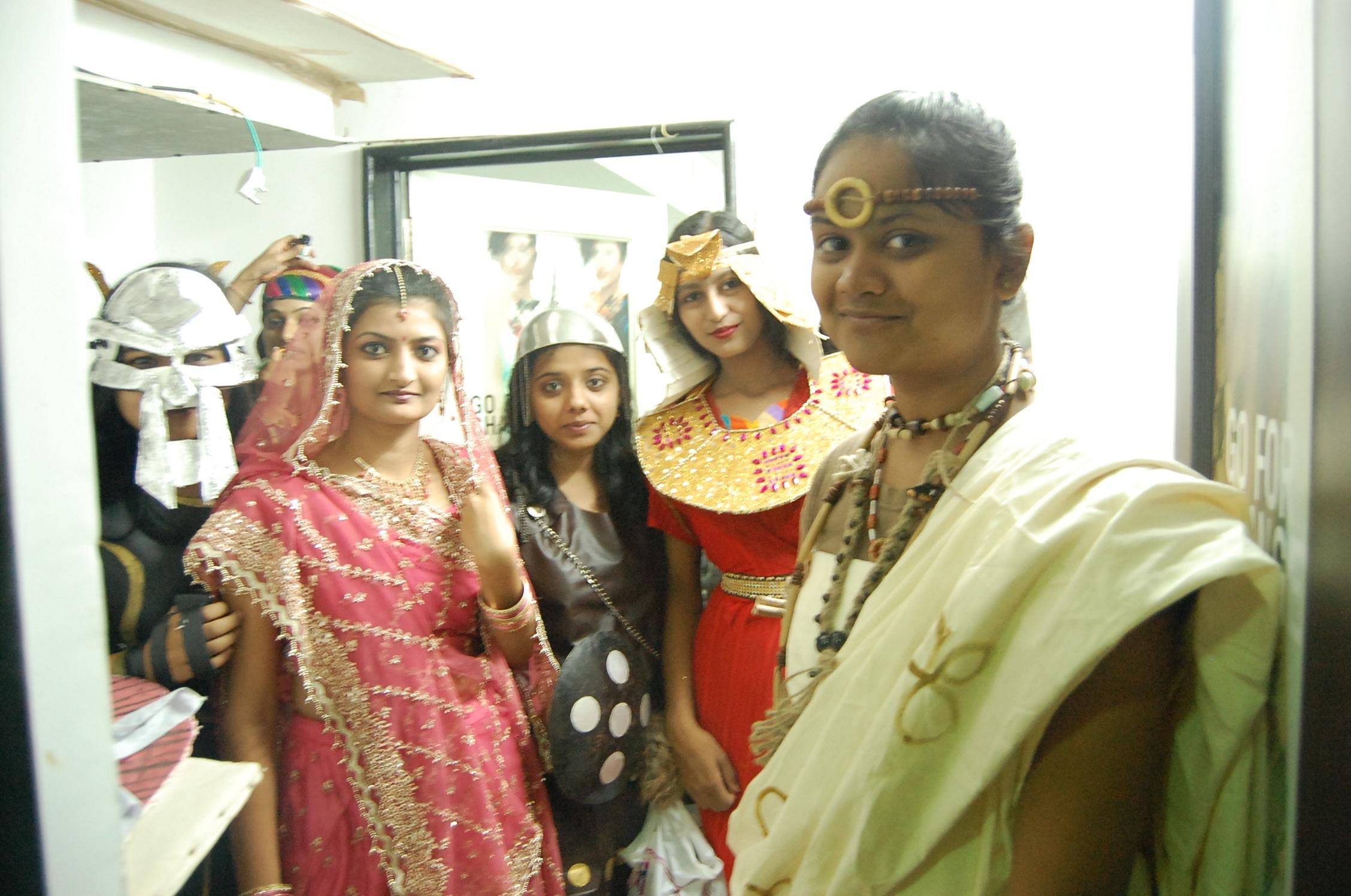 Exhibition on Ethnic Clothing