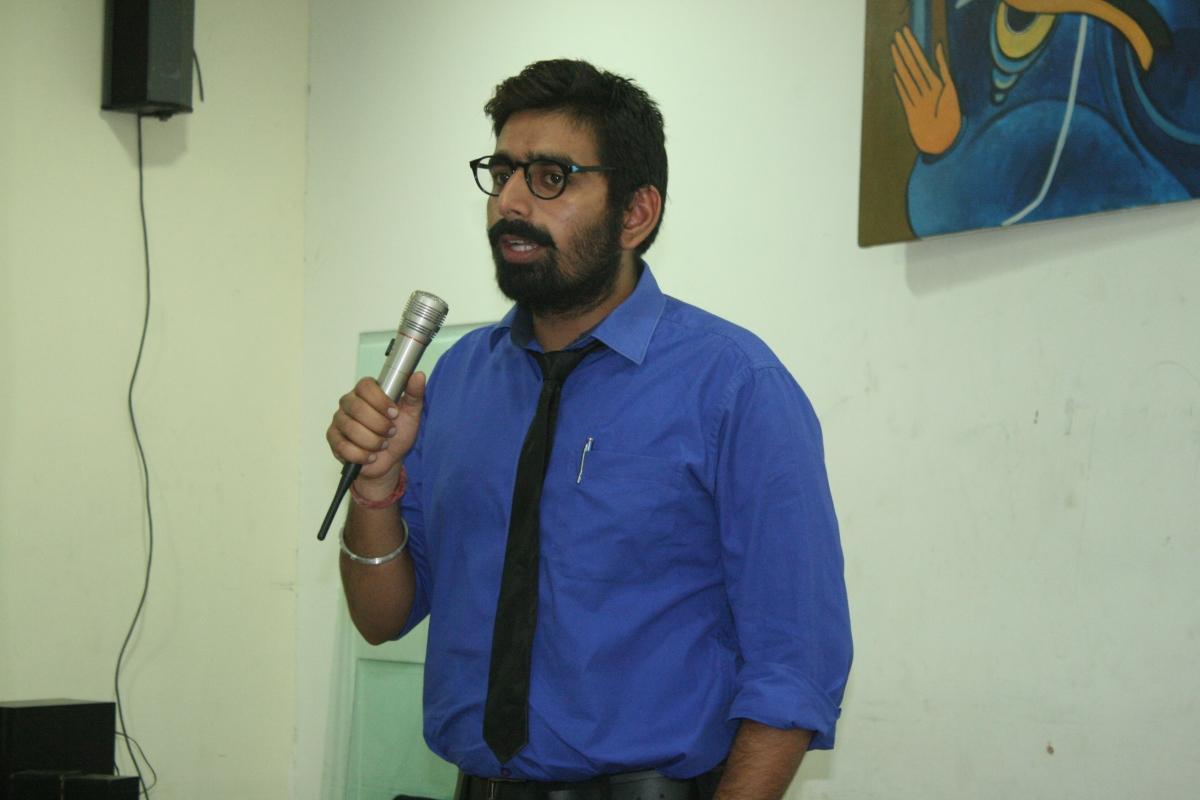 Session by Mr. Dhruv Arora