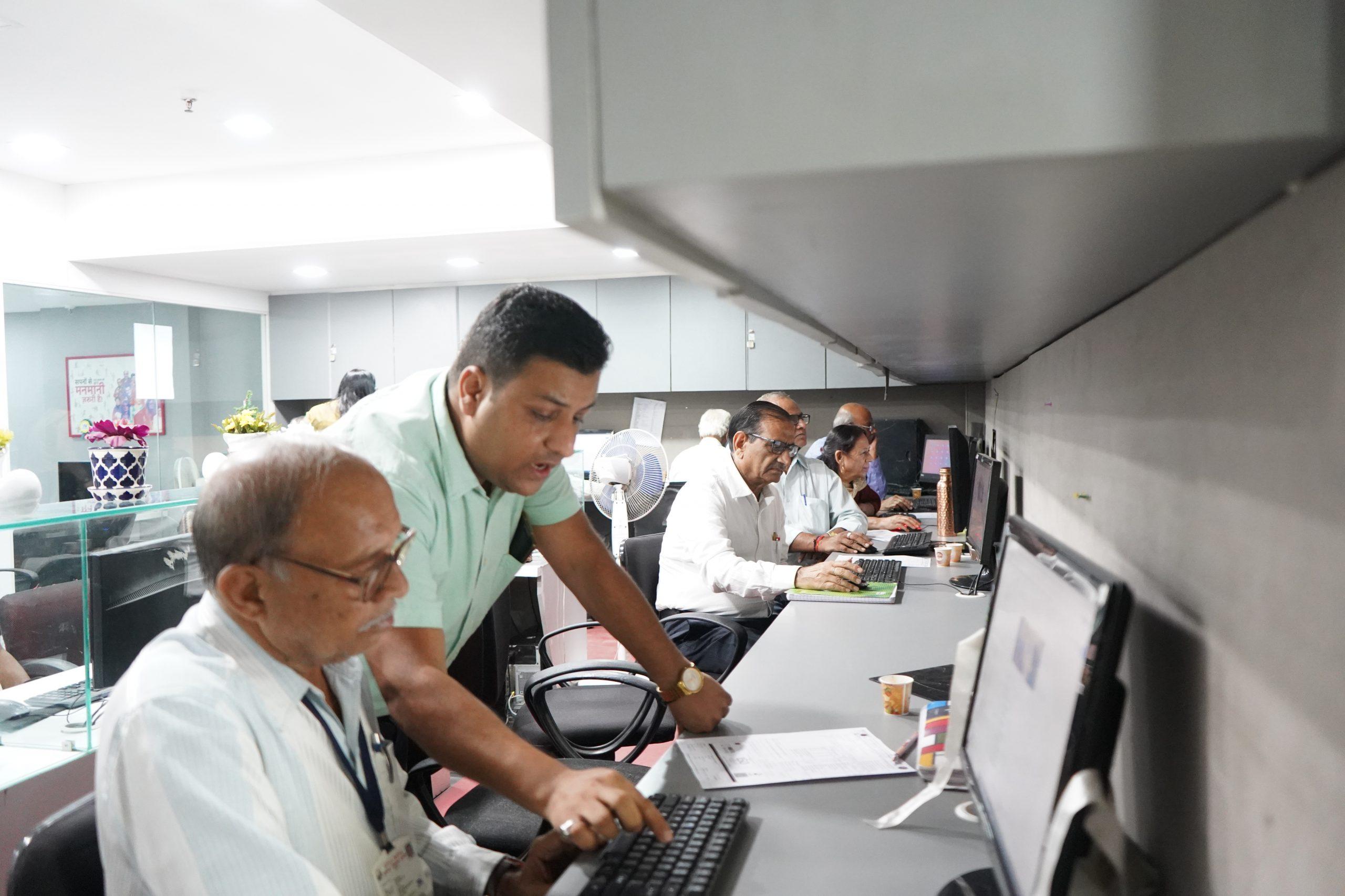 Senior Citizens Computer Awareness