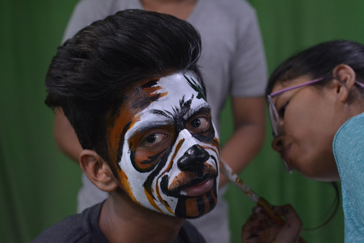 Acting Event Makeup