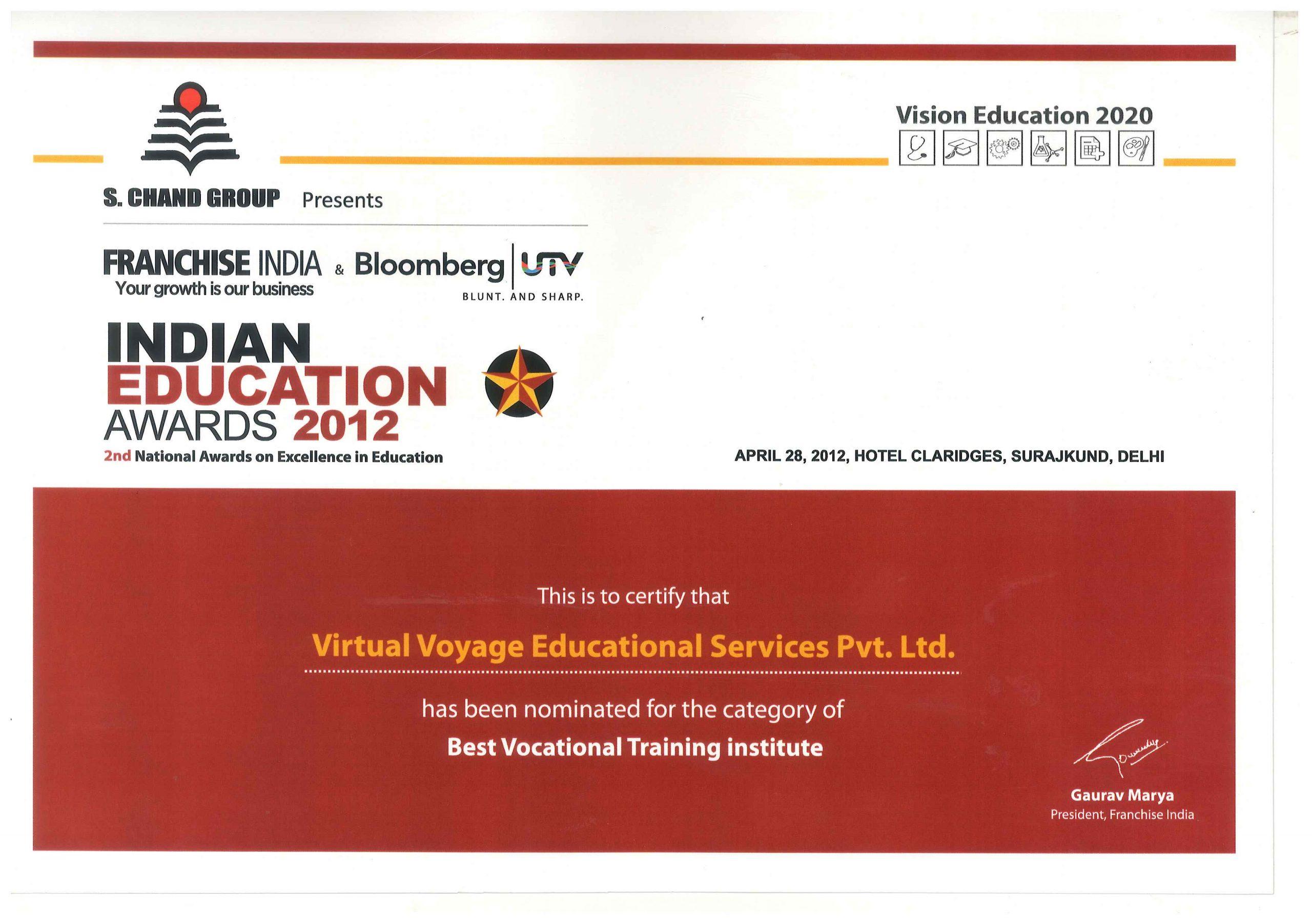 Best Vocational Training Institutes