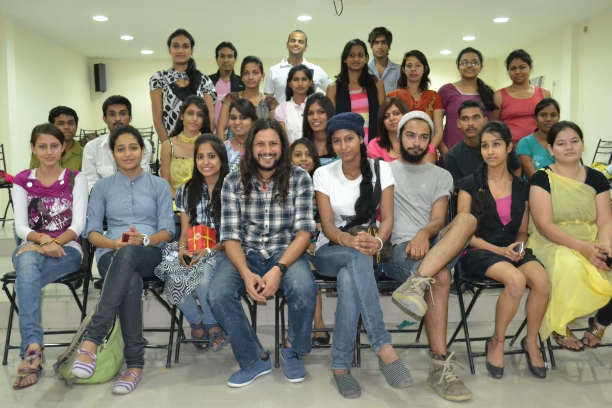 Button Masala Workshop by Mr. Anuj Sharma