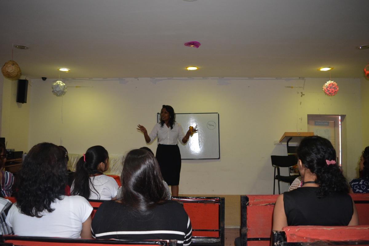 Seminar by Mrs. Venus Sadana