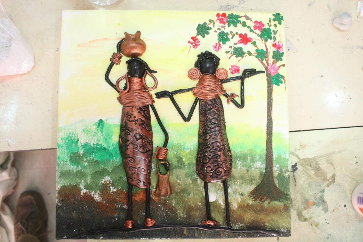 Tribal Art Mural Session