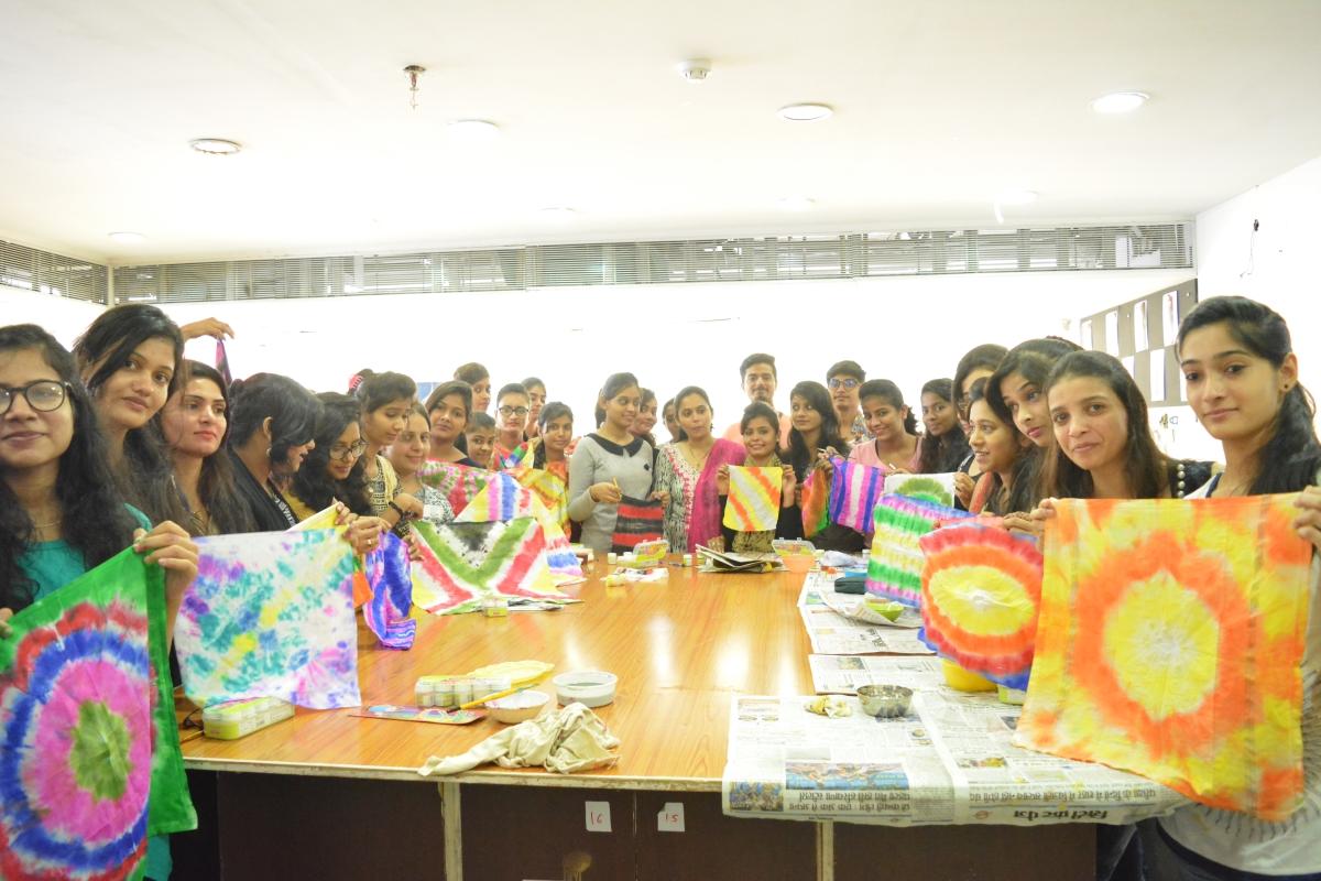 Workshop by Mrs. Kamakshi Paliwal