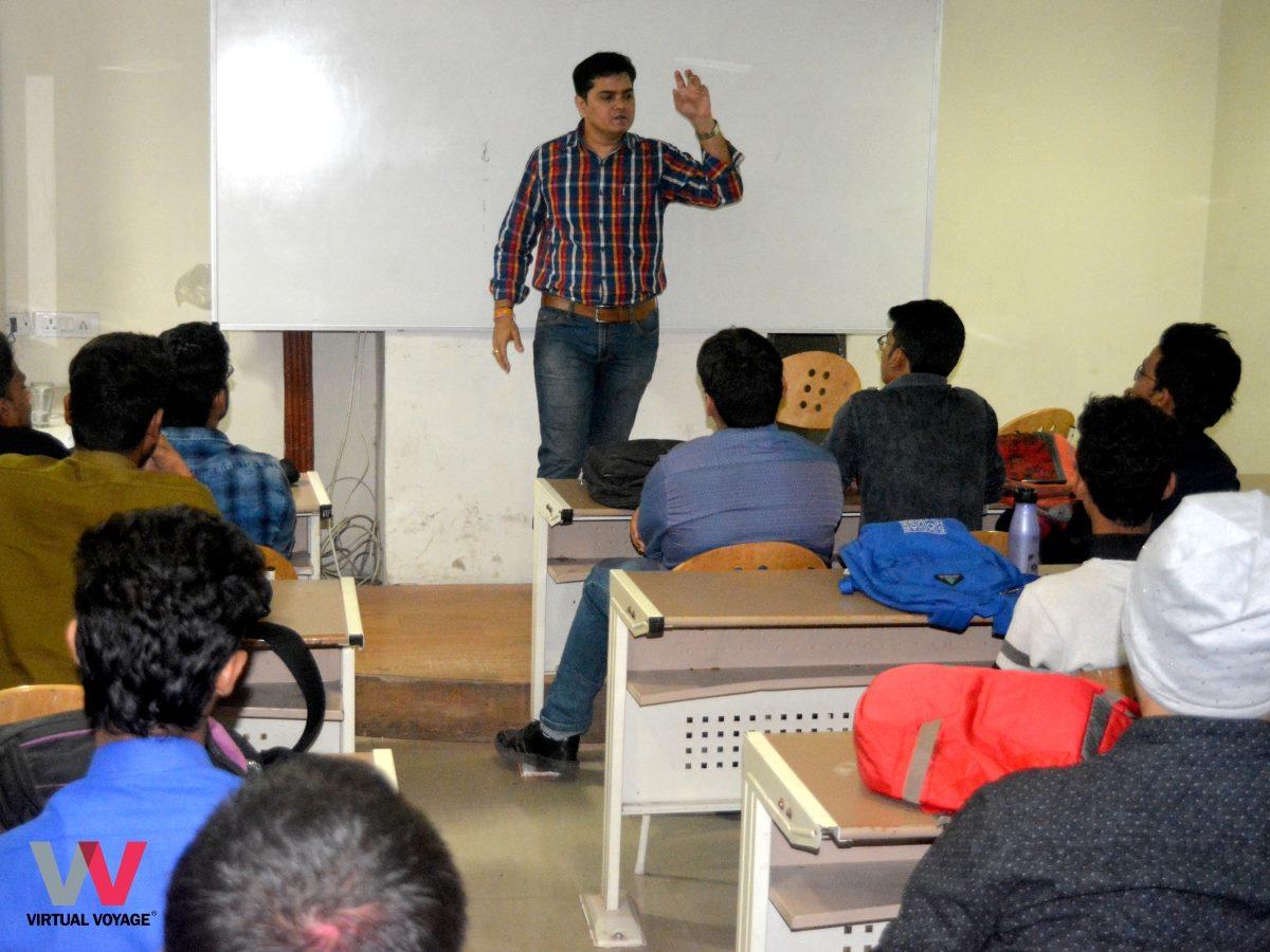 Seminar by Film Maker Shri Aseem Ji Gupta