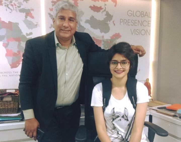 Mitali Jain's Haircut